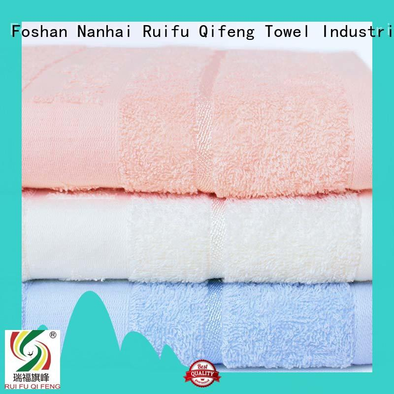 Ruifu Qifeng children bamboo baby hooded towel promotion for home