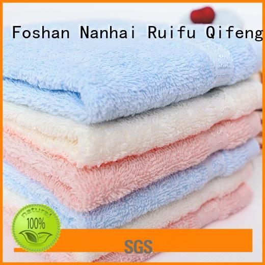 Ruifu Qifeng qf019b722 infant hooded towel supplier for hotel