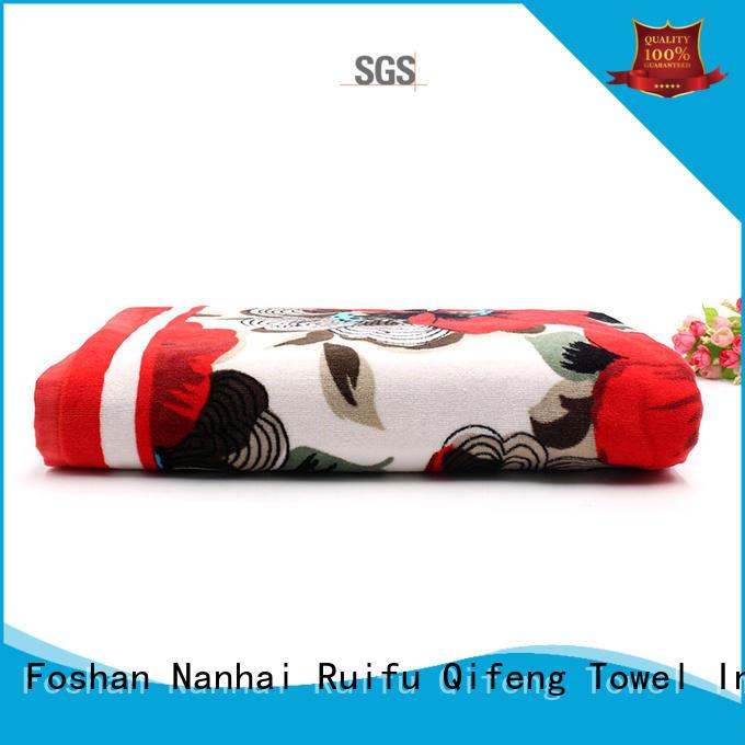 Ruifu Qifeng beach large beach towels wholesale for beach