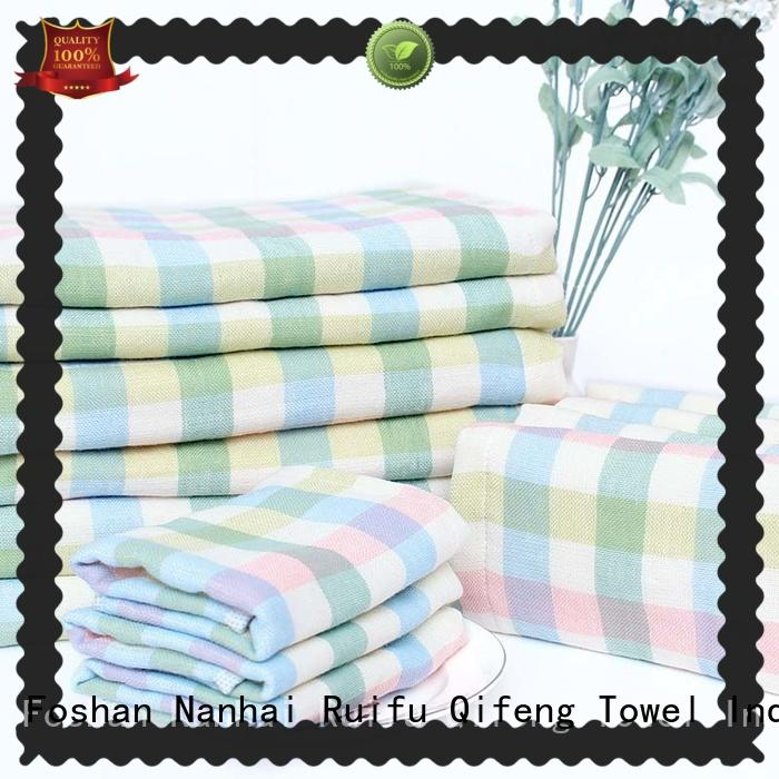 best baby bath towels poncho for kindergarden Ruifu Qifeng