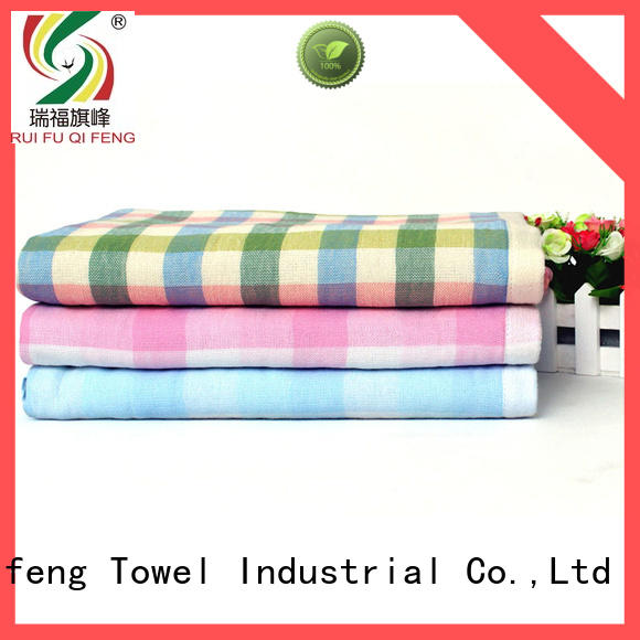 natural bamboo baby towel qf011f347 manufacturer for kindergarden