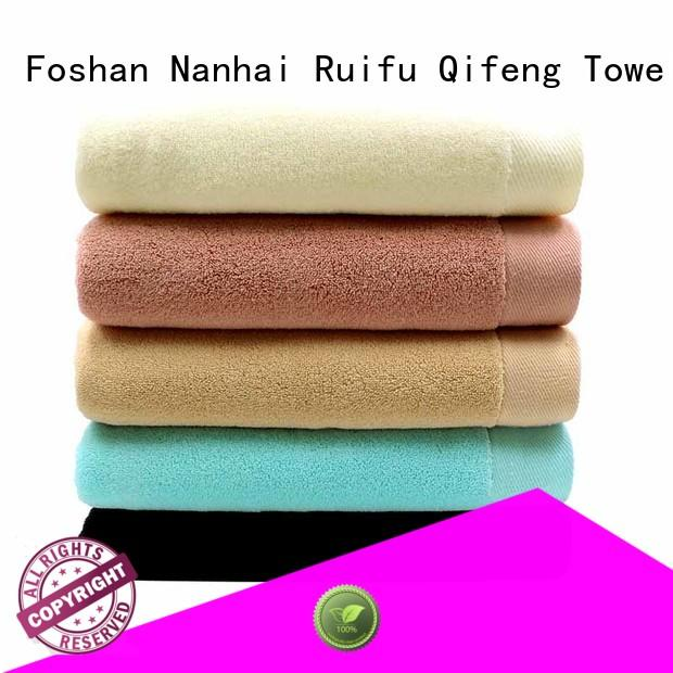 customized sports towel absorbent for club Ruifu Qifeng