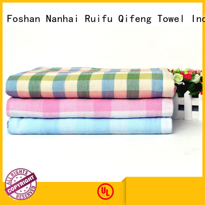 Ruifu Qifeng qf015a383 organic bamboo baby towels promotion for home