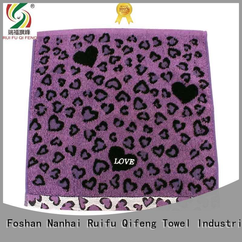 Ruifu Qifeng turban zero twist towels supplier for restaurant