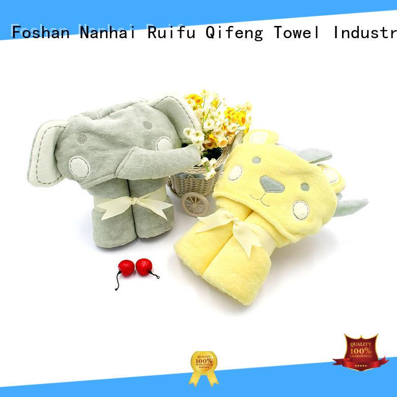 Infant Bath Towels Hooded Towel - QF-013