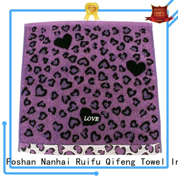 Ruifu Qifeng luxury zero twist towels factory price for home