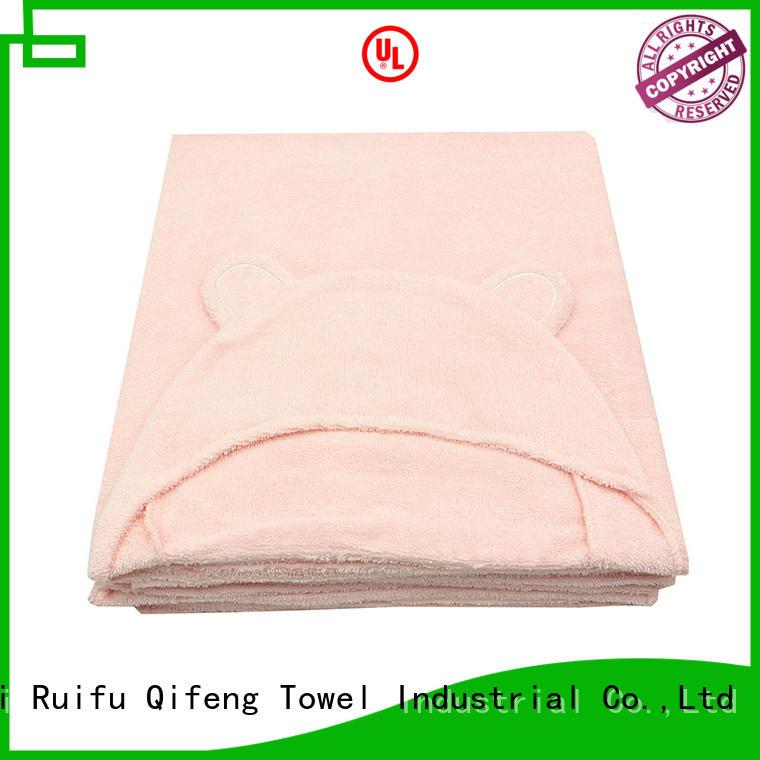 Ruifu Qifeng qf019b722 baby bath towels design for kindergarden