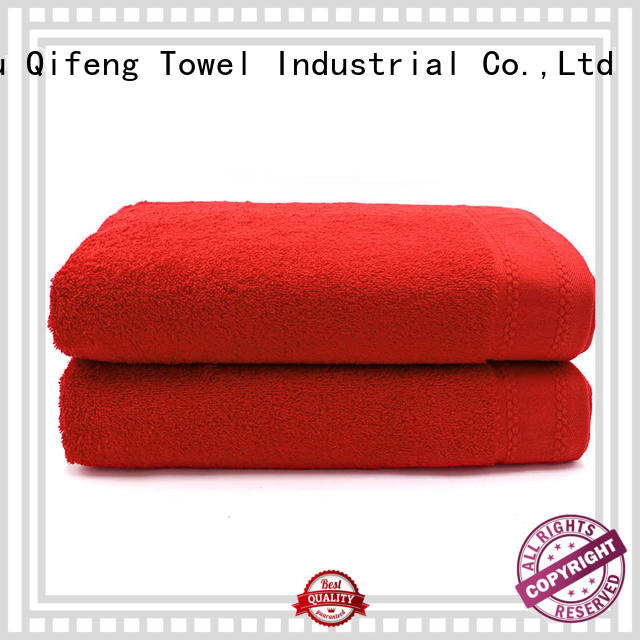 Ruifu Qifeng beach extra large beach towels directly price for beach