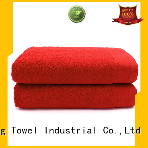 Ruifu Qifeng towel extra large beach towels supplier for pool