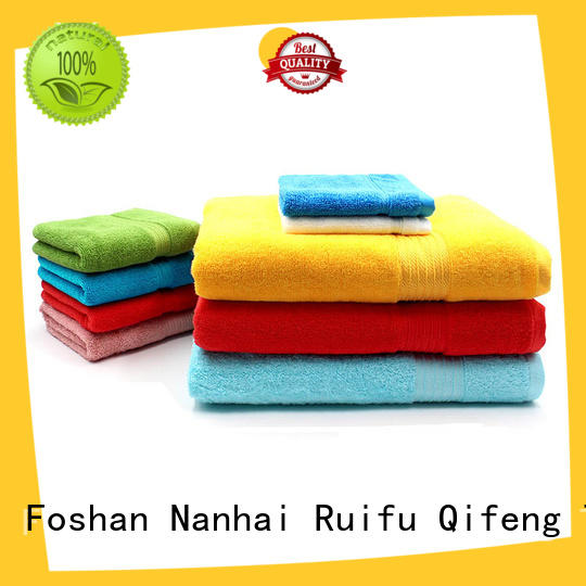 Ruifu Qifeng thickness cotton towel set online for restaurant
