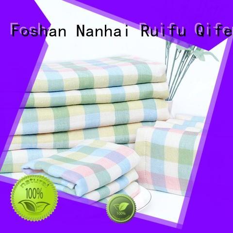 Ruifu Qifeng bamboo organic bamboo baby towels online for hospital