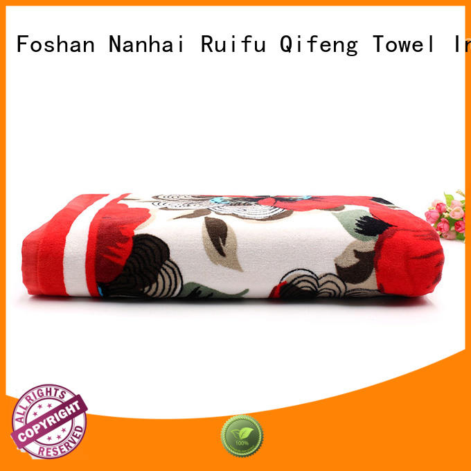 Ruifu Qifeng yarned best beach towels directly price for home