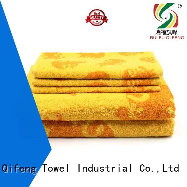 eco-friendly bamboo towel set various supplier for restaurant