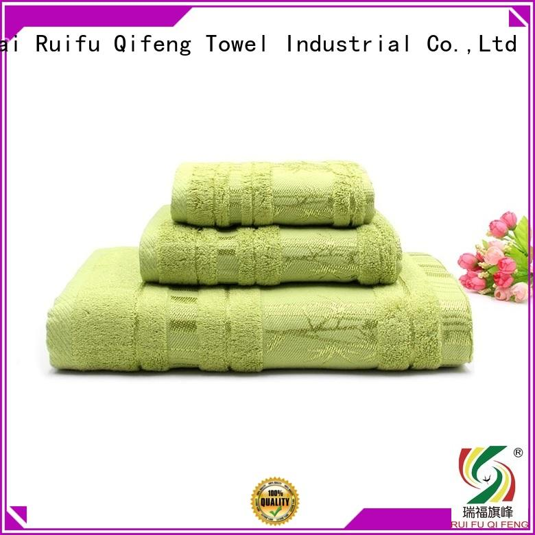 Ruifu Qifeng thick bathroom towel sets supplier for club