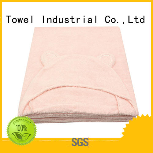 Ruifu Qifeng series bamboo baby hooded towel manufacturer for kindergarden