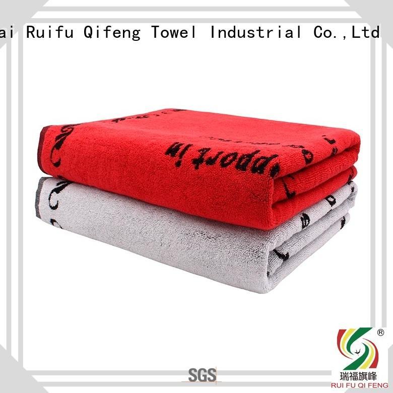 large beach towels jacquard supplier for beach