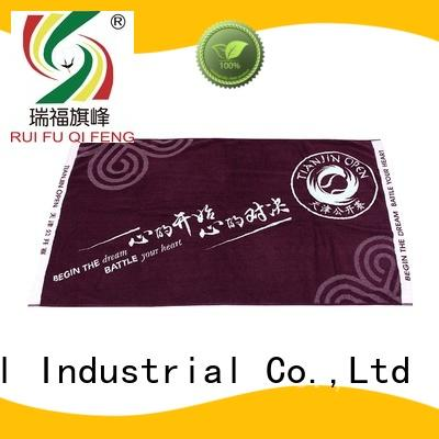 Ruifu Qifeng customized fast drying towels factory price for club