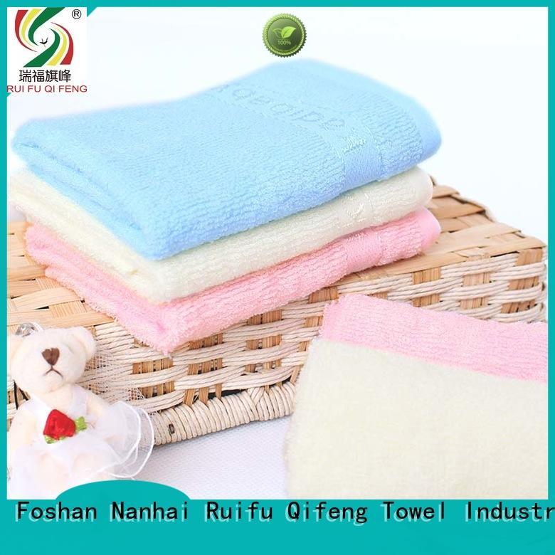Ruifu Qifeng kids baby poncho towel design for hotel