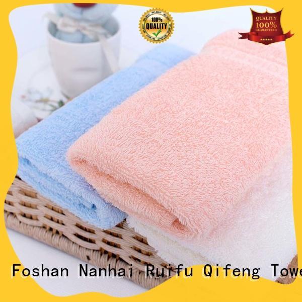 Ruifu Qifeng customized newborn baby towel online for hospital