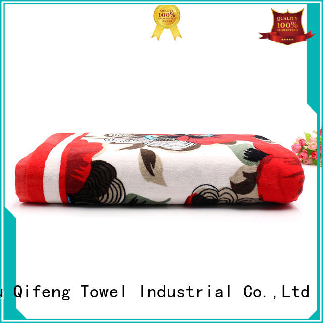 good quality personalized beach towels yarned wholesale for swimming