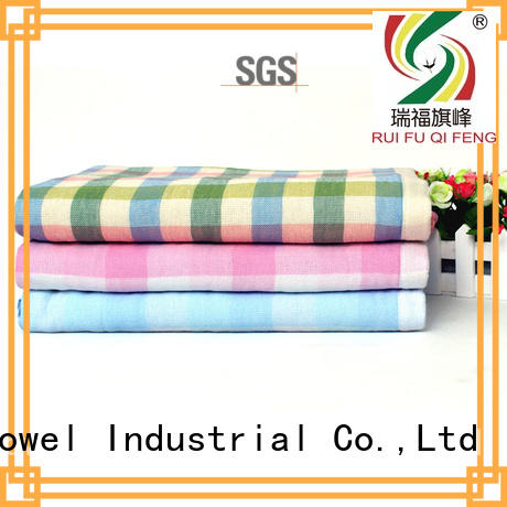 Ruifu Qifeng customized personalized baby towels design for hospital