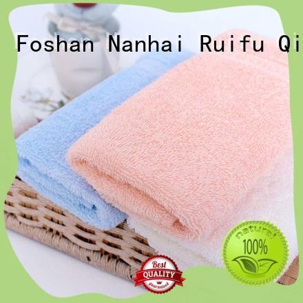 Ruifu Qifeng safe baby hooded bath towel promotion for hospital