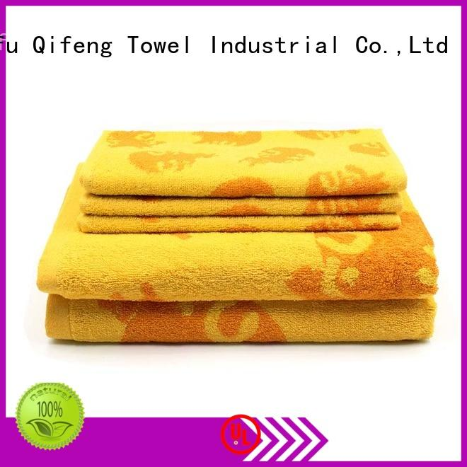 cotton towel set thickness for restaurant Ruifu Qifeng