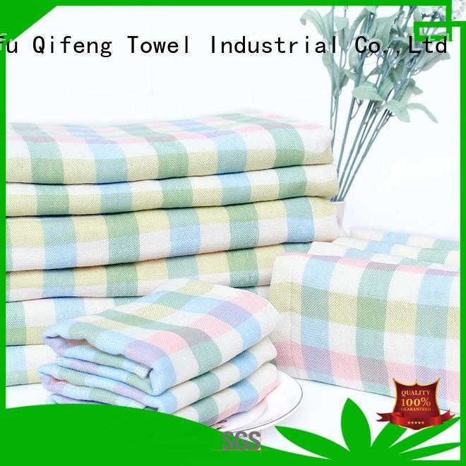 towel newborn baby towel manufacturer for kindergarden Ruifu Qifeng