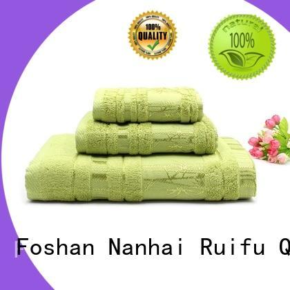 Organic Customized Logo Bamboo towel set
