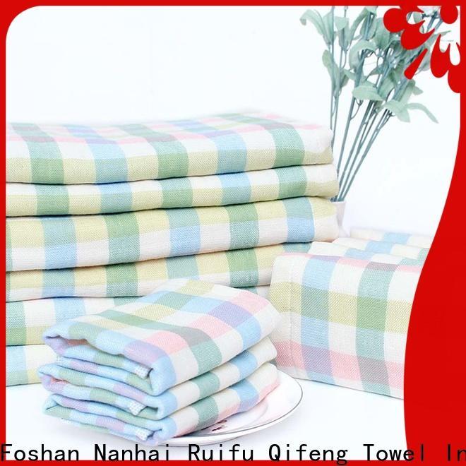 Ruifu Qifeng soft infant bath towels online for home