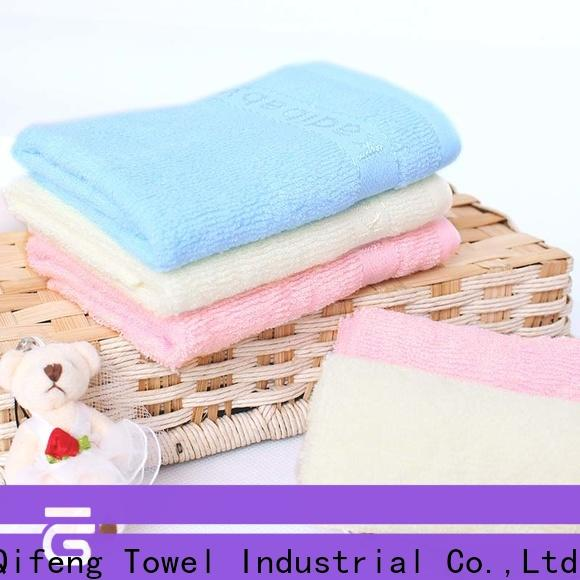 Ruifu Qifeng safe baby hooded towel supplier for hospital