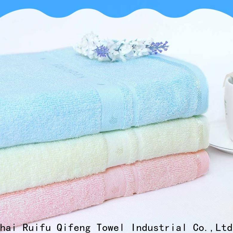 kids bamboo baby towel velour manufacturer for hotel