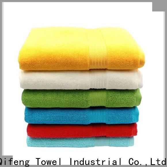 Ruifu Qifeng monogrammed large bath towels sets for club