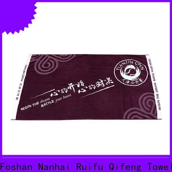 Ruifu Qifeng highabsorbent zero twist towels sets for club
