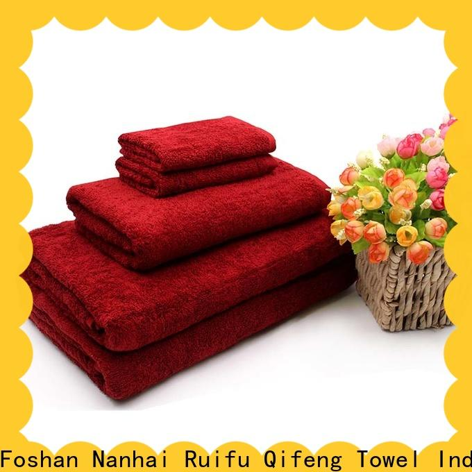 Ruifu Qifeng customized bath towel sets online for hospital