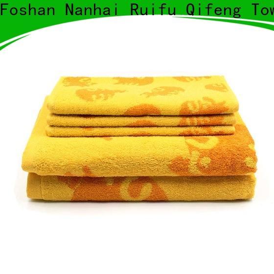Ruifu Qifeng monogrammed towel set series supplier for beach
