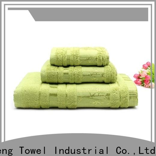 Ruifu Qifeng thickness bamboo towel set supplier for home