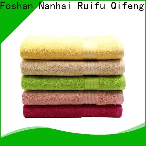 Ruifu Qifeng terry best beach towels promotion for home