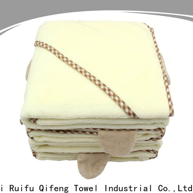 Ruifu Qifeng kids infant bath towels promotion for home