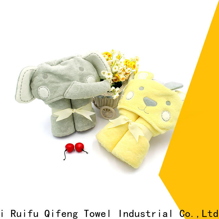comfortable soft baby towels gauze design for hotel