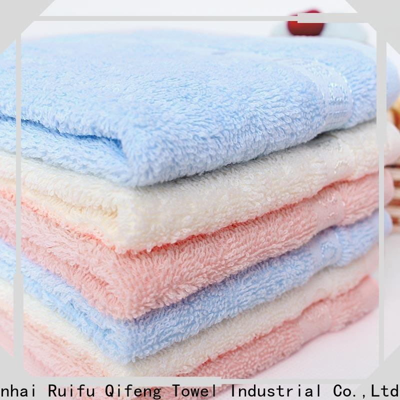 Ruifu Qifeng kids baby hooded towel supplier for home