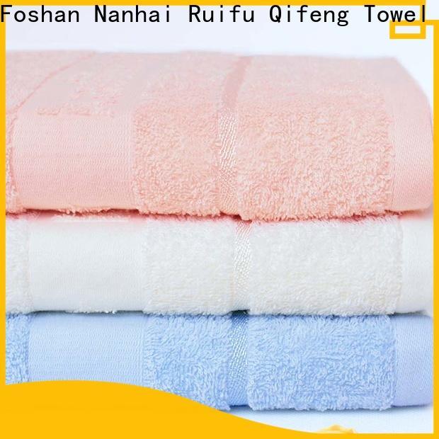 Ruifu Qifeng customized bamboo baby towel manufacturer for home