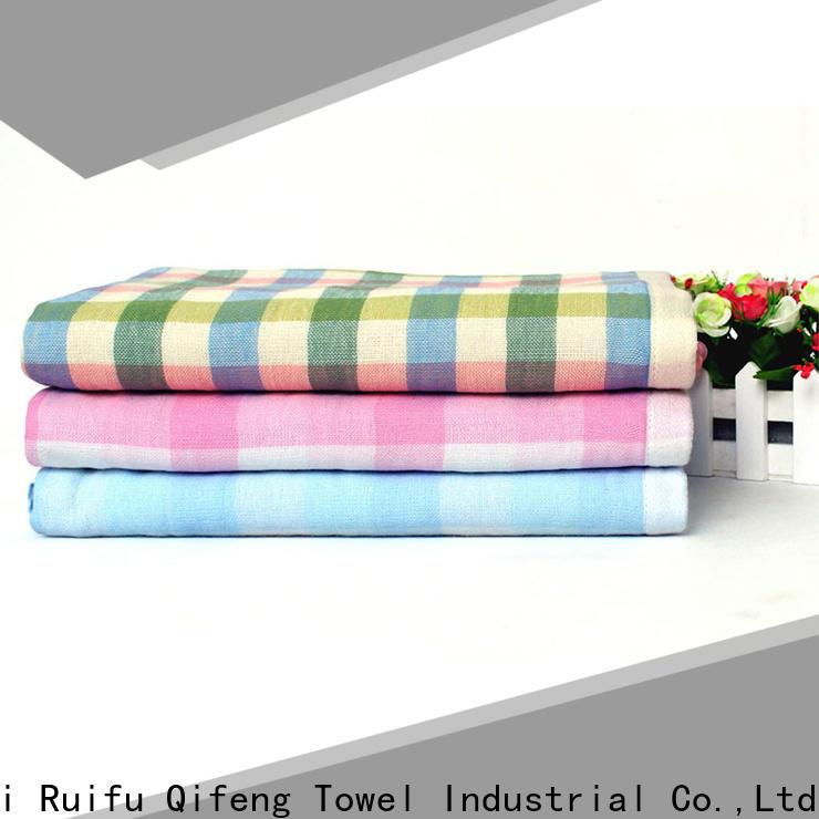 Ruifu Qifeng natural newborn baby towel online for hotel
