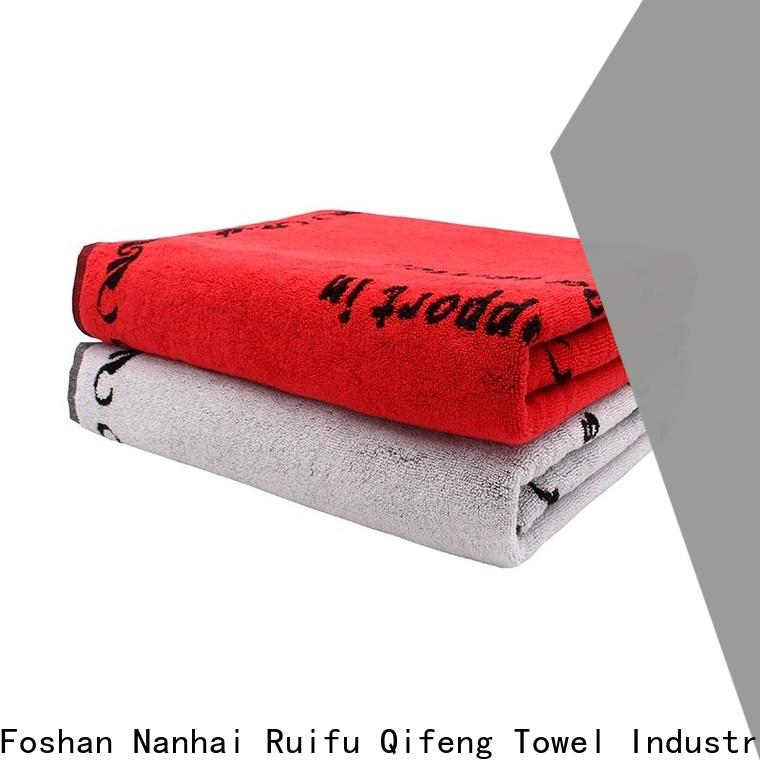 Ruifu Qifeng pool personalized beach towels wholesale for swimming