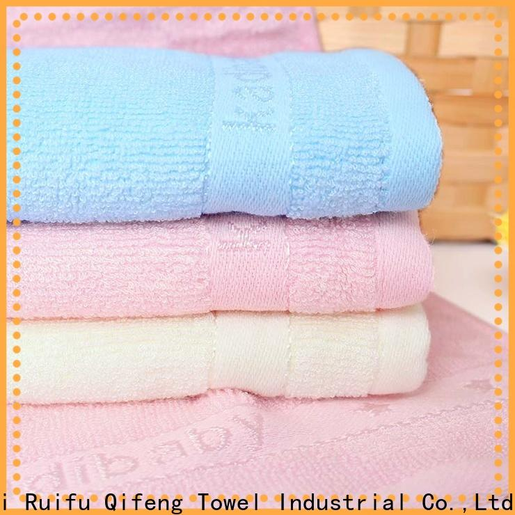 Ruifu Qifeng bamboo personalized baby towels online for kindergarden