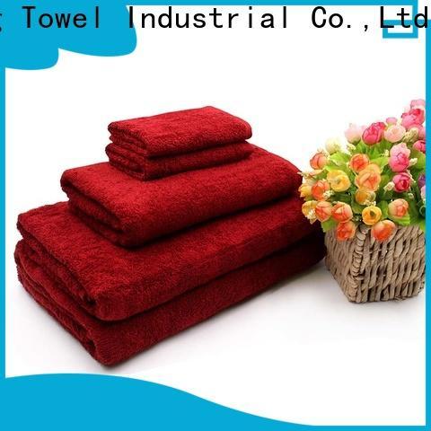Ruifu Qifeng monogrammed towel set series factory price for hospital