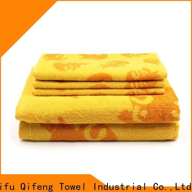 Ruifu Qifeng various cotton towel set online for beach