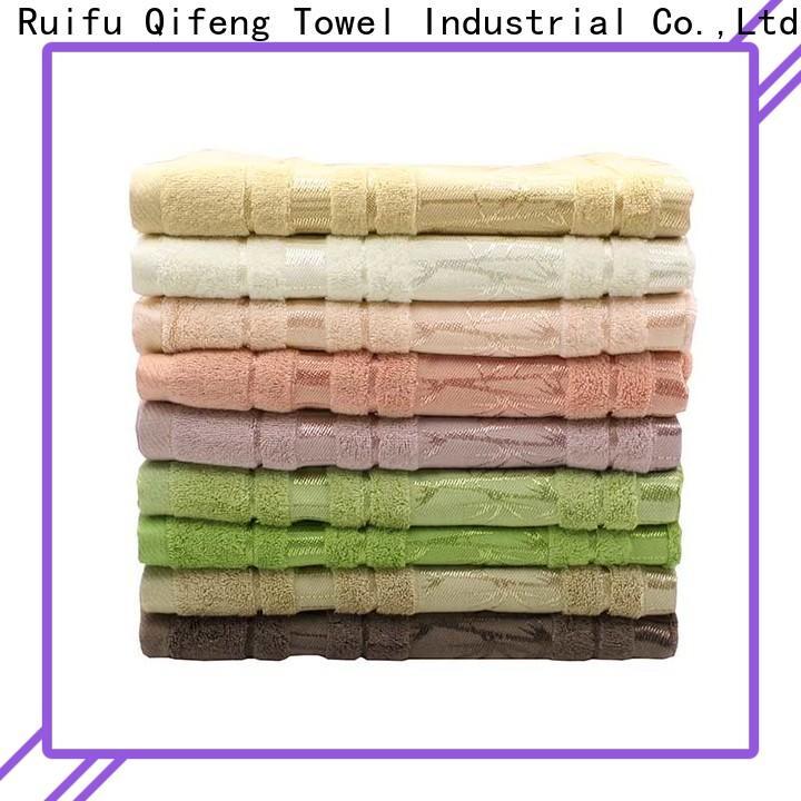 Ruifu Qifeng printing large bath towels on sale for beach