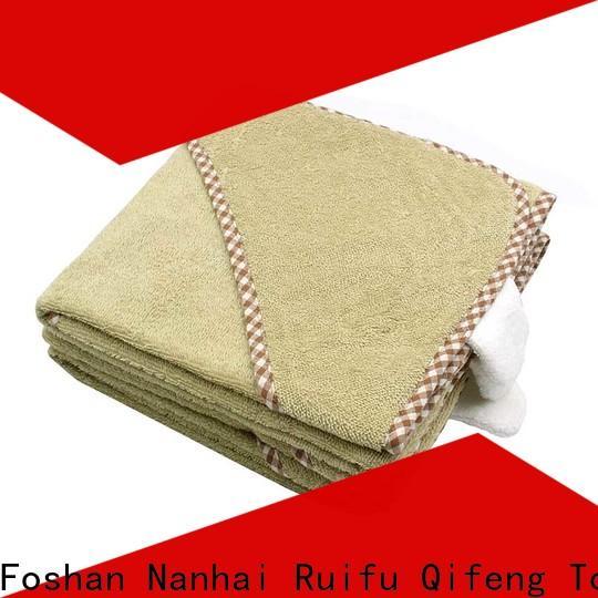 Ruifu Qifeng soft newborn baby towel supplier for home