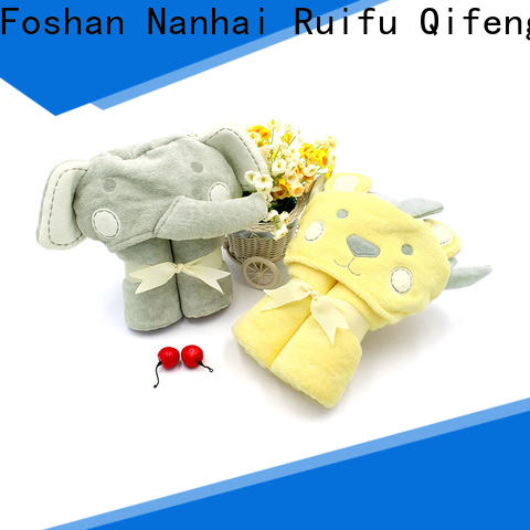 soft baby towels online qf019b722 supplier for hospital